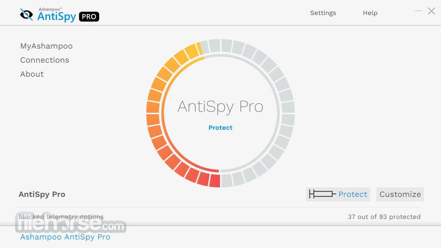 Ashampoo AntiSpy Pro 1.0.3 Screenshot 3