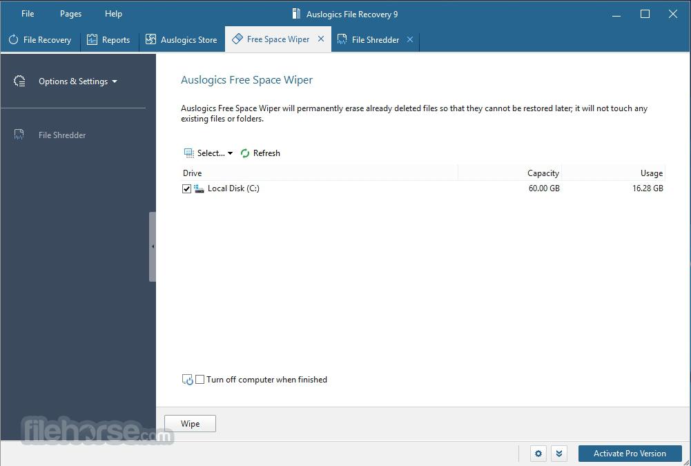 Auslogics File Recovery 8.0.1.0 Screenshot 4