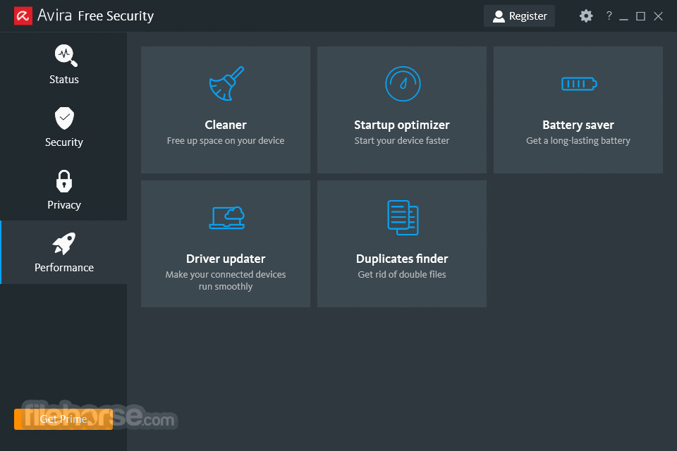 Avira System Speedup 4.5.0.6983 Screenshot 1