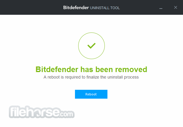 Bitdefender Uninstall Tool for 2018 Editions Screenshot 2