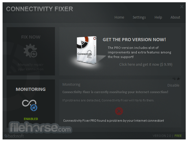 Connectivity Fixer 2.5 Screenshot 3