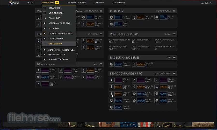 Corsair Utility Engine - iCUE 3.33.246 Screenshot 4