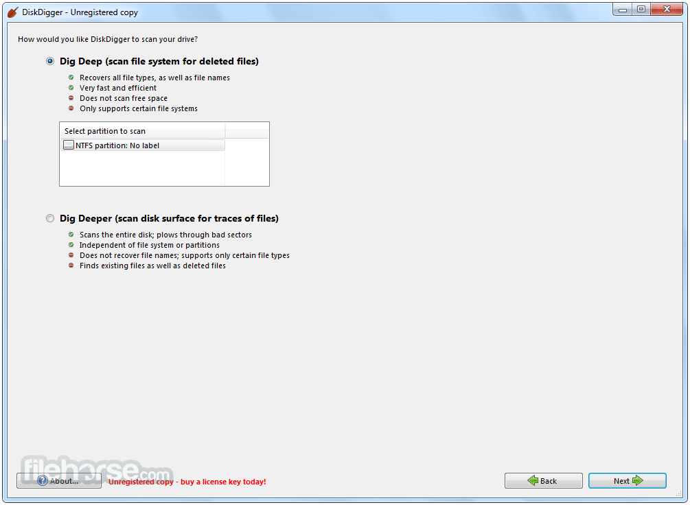DiskDigger 1.18.16.2357 Screenshot 3