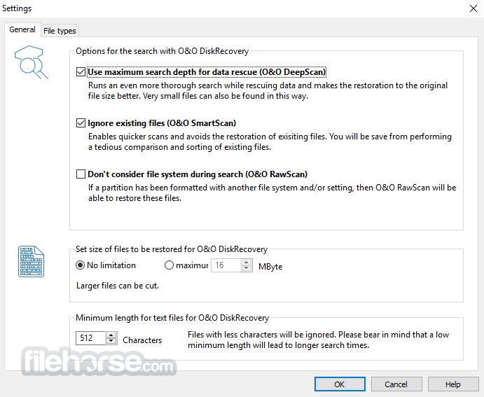 O&O DiskRecovery Professional 12.0.63 (32-bit) Captura de Pantalla 2