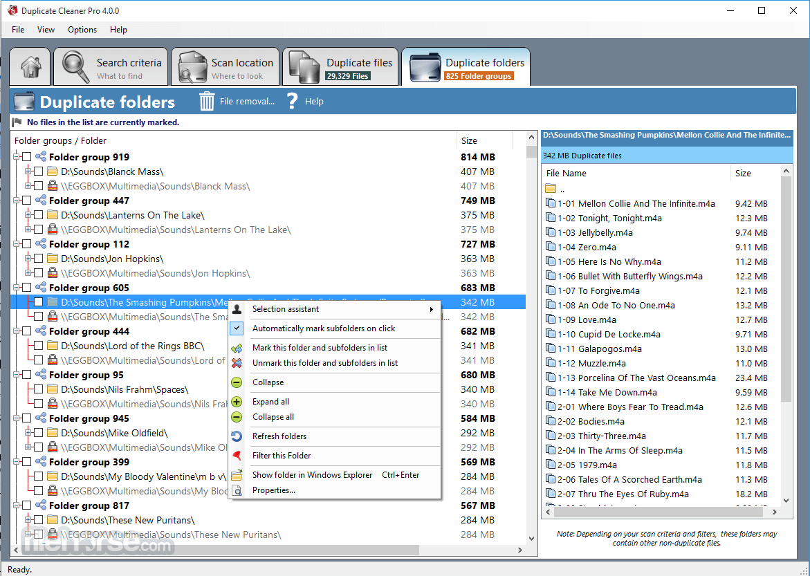 Duplicate Cleaner Free 4.1.0 Screenshot 5