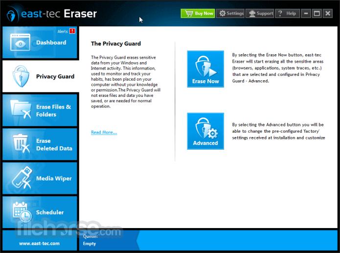 east-tec Eraser 13.3 Captura de Pantalla 2