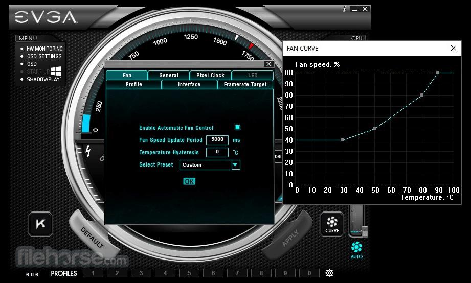 EVGA Precision XOC 6.2.7 Captura de Pantalla 3