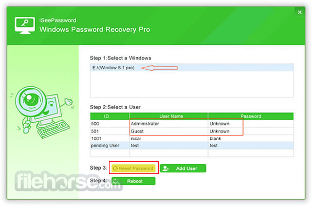 iSeePassword Windows Password Recovery Download (2019 Latest) for PC