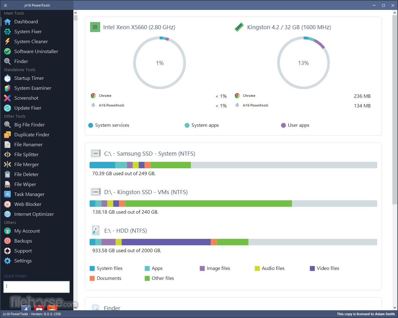 jv16 PowerTools 5.0.0.668 Screenshot 1