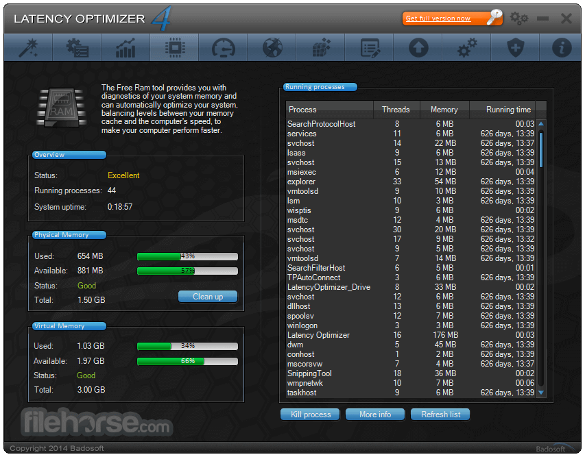 Latency Optimizer 4.0 Captura de Pantalla 3