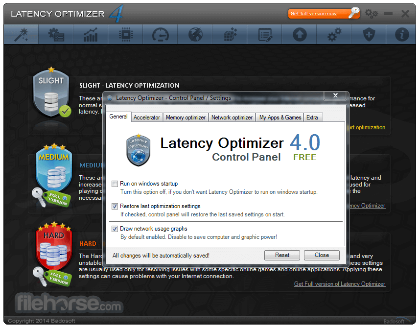 Latency Optimizer 4.0 Captura de Pantalla 5