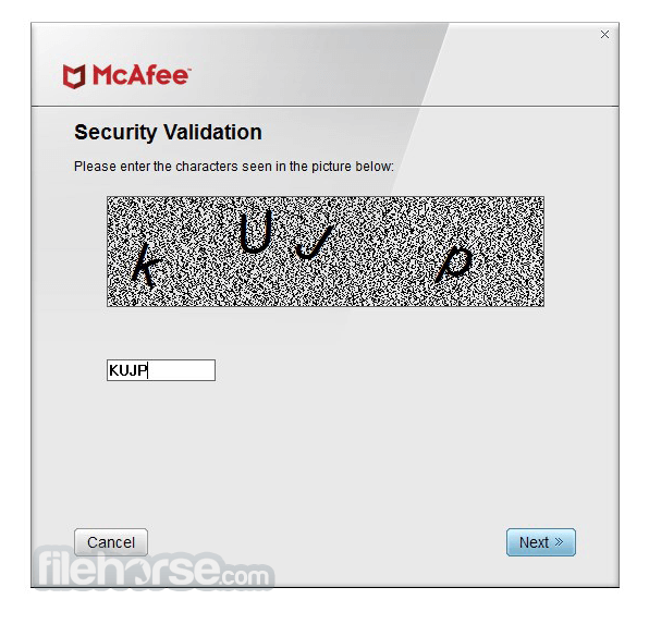 McAfee Consumer Product Removal Tool 10.2.207.0 Captura de Pantalla 3