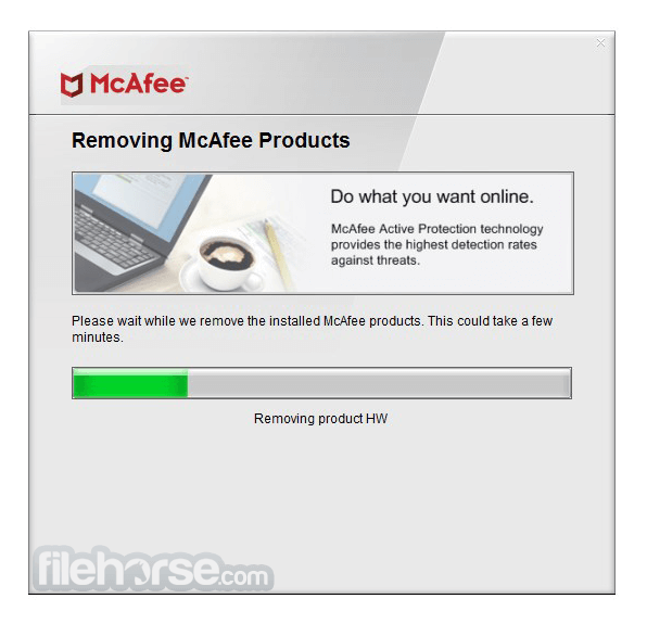 McAfee Consumer Product Removal Tool 10.2.207.0 Screenshot 4