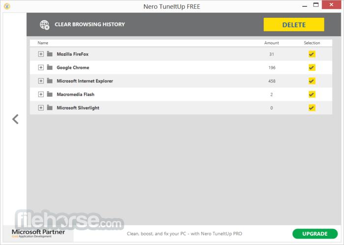 Nero TuneItUp Free 2.5.0.55 Screenshot 2