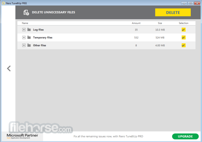 Nero TuneItUp Free 2.5.0.55 Screenshot 4