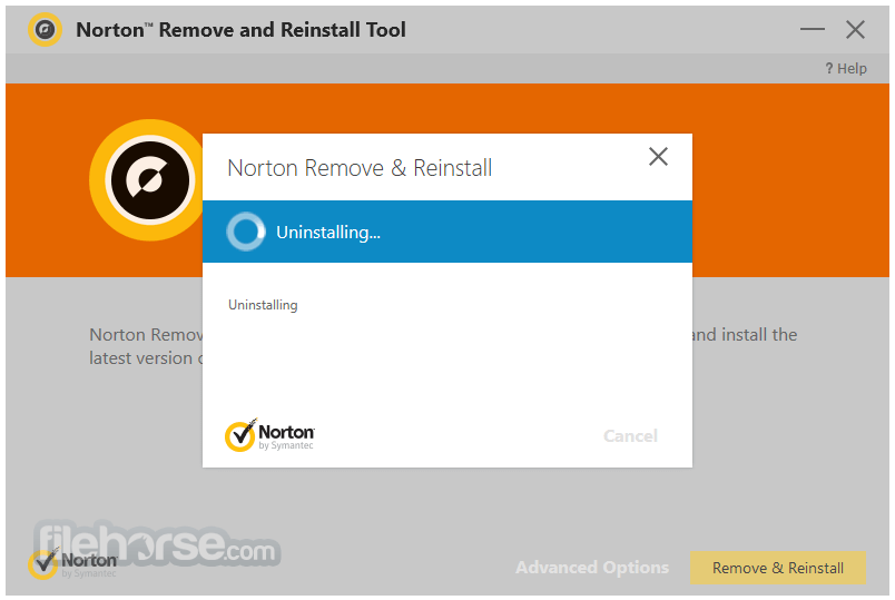 Norton Removal and Reinstall Tool 4.5.0.104 Captura de Pantalla 5