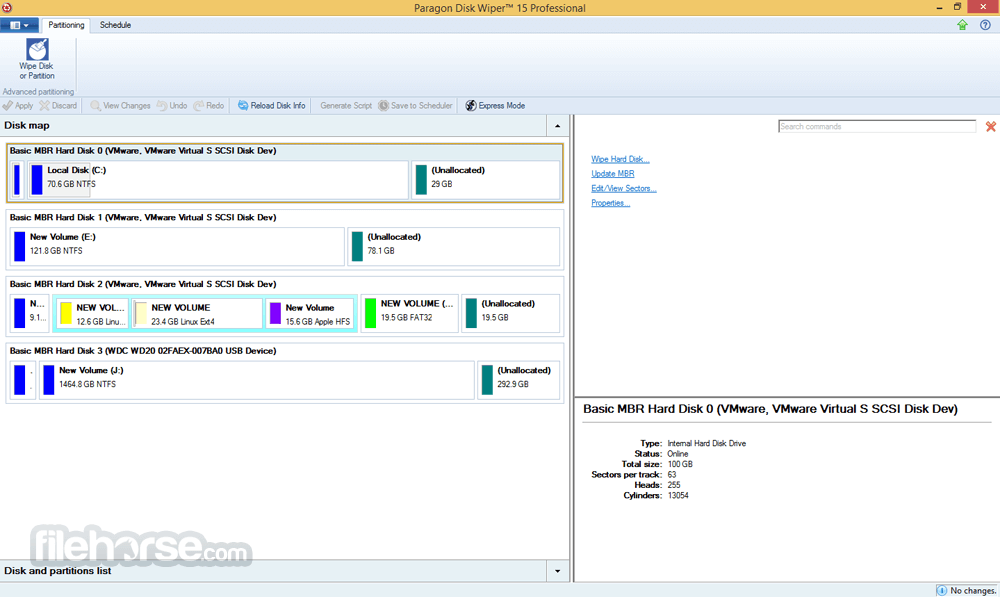 Paragon Disk Wiper 10.1.25.328 (64-bit) Screenshot 2