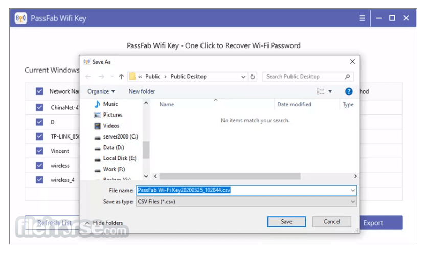 PassFab Wifi Key 1.0.0 Screenshot 3