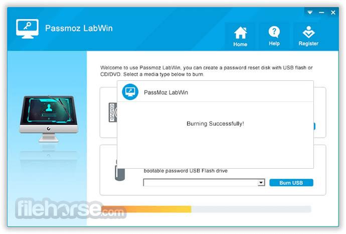 PassMoz LabWin 3.7.6.3 Screenshot 2