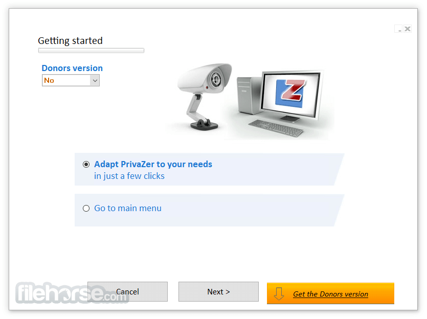 PrivaZer 3.0.45 Screenshot 1