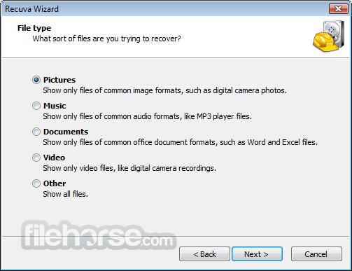 Recuva 1.53.1087 Screenshot 5