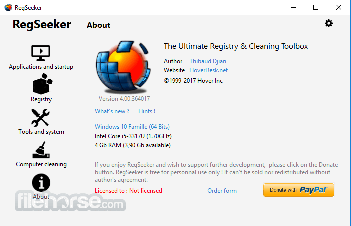 regseeker pour windows 7