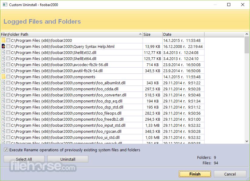 Revo Uninstaller Pro 3.2.0 Captura de Pantalla 3