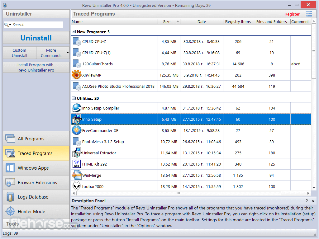 Revo Uninstaller Pro 3.2.1 Screenshot 4