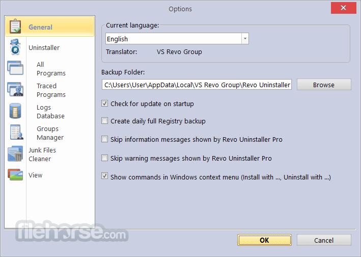Revo Uninstaller Pro 3.2.0 Captura de Pantalla 5