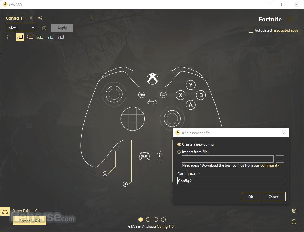 reWASD 5.6.2.3578 Screenshot 2