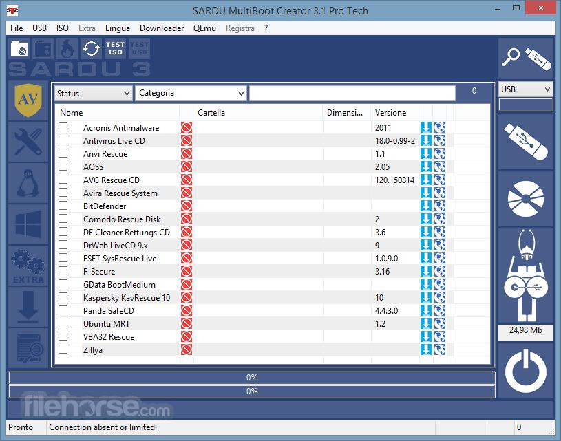 SARDU 3.4.3 Screenshot 1