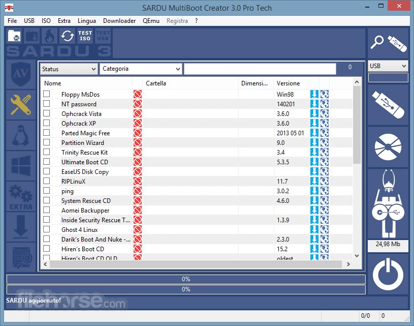 SARDU 3.4.3 Screenshot 2
