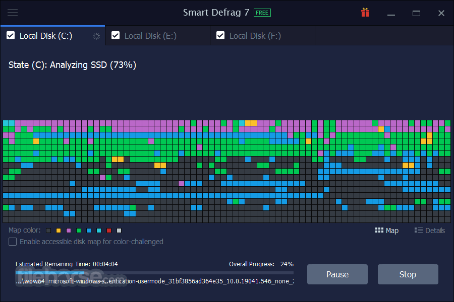 Smart Defrag 6.0.1 Build 116 Captura de Pantalla 3