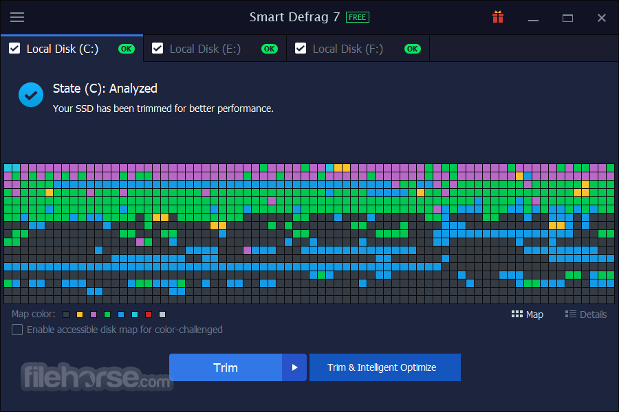 Smart Defrag 6.0.1 Build 116 Captura de Pantalla 4