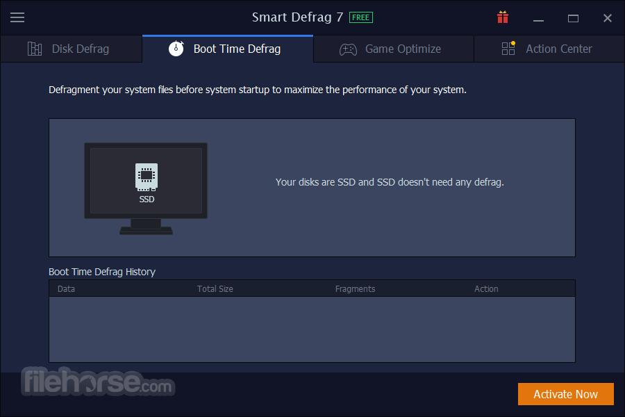 Smart Defrag 6.0.1 Build 116 Captura de Pantalla 5