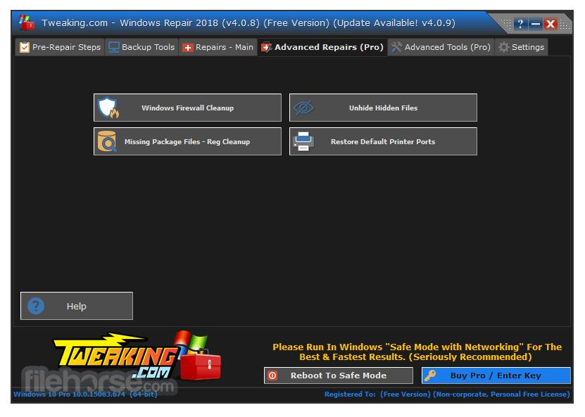 windows update repair tools