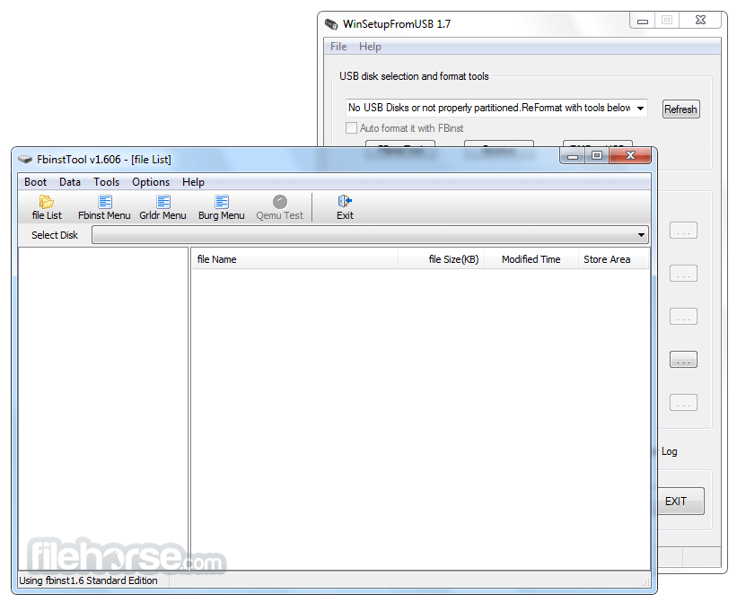 WinSetupFromUSB 1.8 Screenshot 3