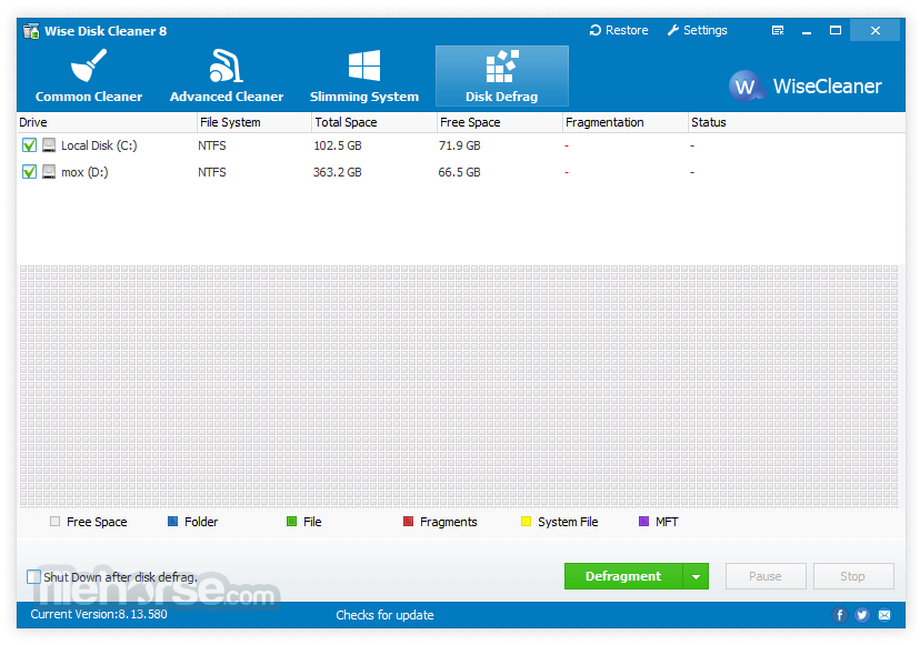 Wise Disk Cleaner 9.62 Screenshot 4