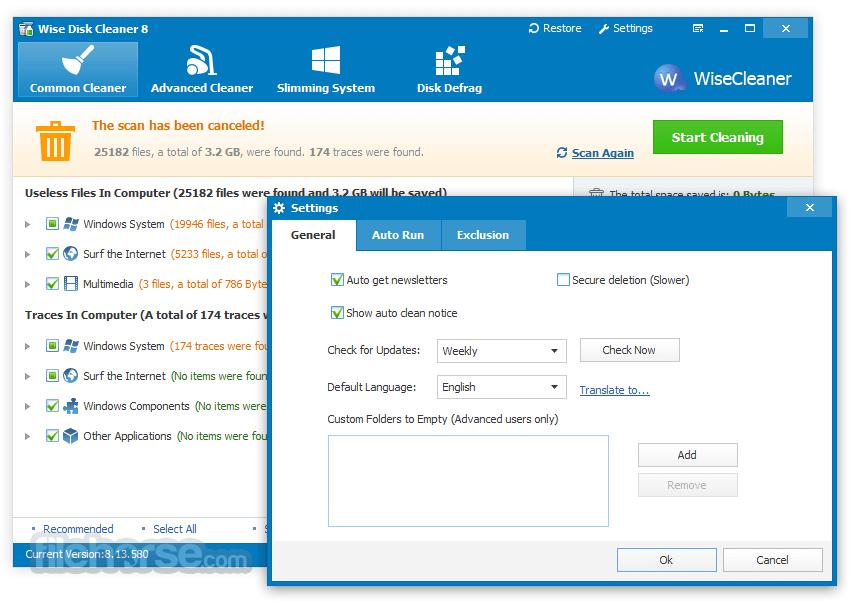 Wise Disk Cleaner 9.62 Screenshot 5