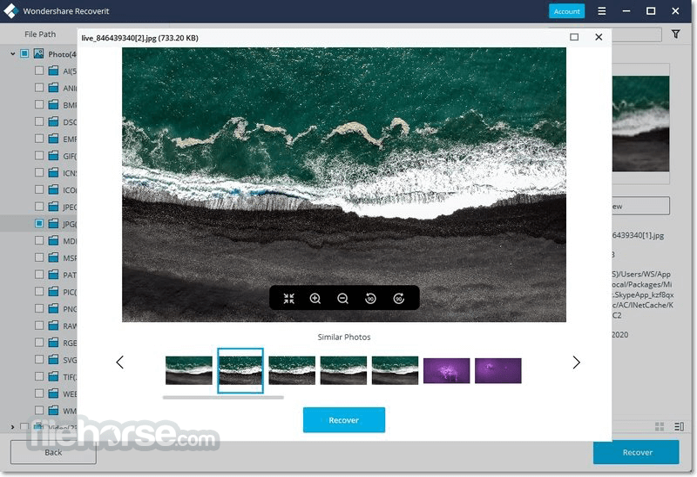 Wondershare Recoverit 9.0 Screenshot 3