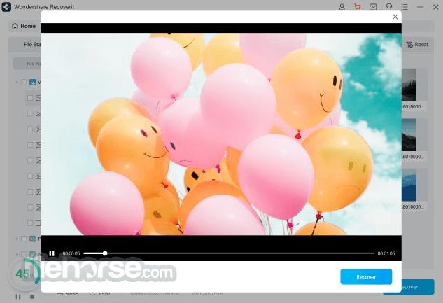 Wondershare Recoverit 9.5.2 Captura de Pantalla 3