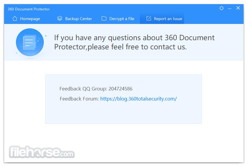 360 Document Protector 1.0.0.1171 Screenshot 4