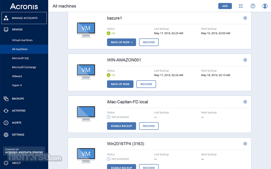 acronis backup and recovery torrent
