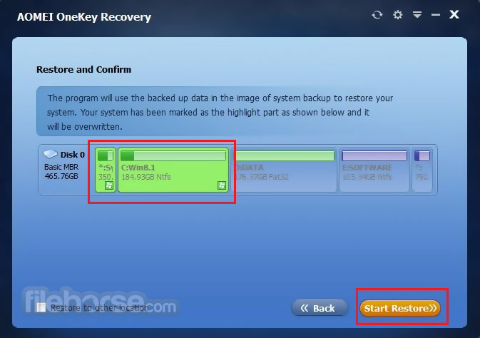 AOMEI OneKey Recovery Download (2019 Latest) for Windows 10