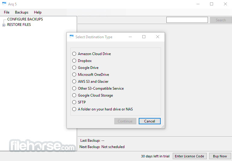 Download  Arq Backup for Windows free 2021