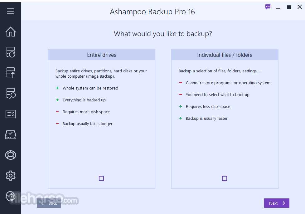 Ashampoo Backup Pro 15.03 Screenshot 3