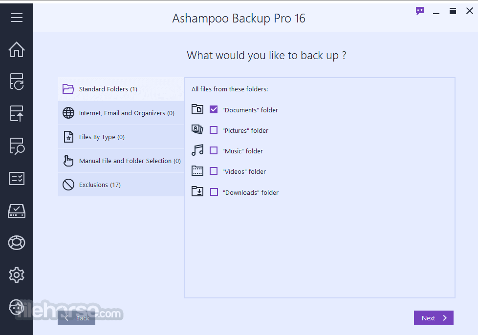 Ashampoo Backup Pro 15.03 Screenshot 4