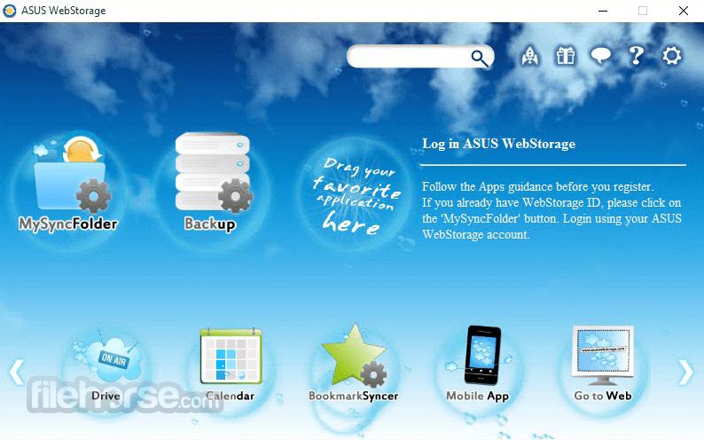 Download  ASUS WebStorage for Windows free 2021
