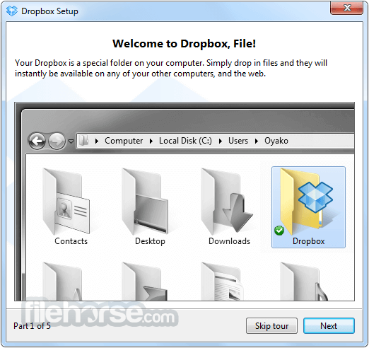Dropbox 48.3.55 Screenshot 2