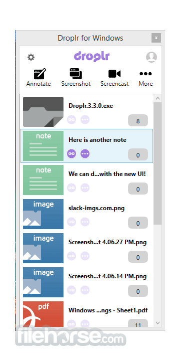 Droplr 4.0.6 Screenshot 3